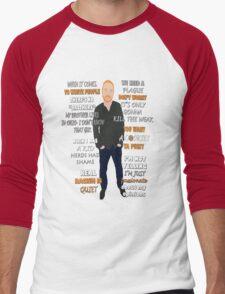 Bill Burr Quote Men's Baseball ¾ T-Shirt