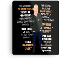 Bill Burr Quote Metal Print