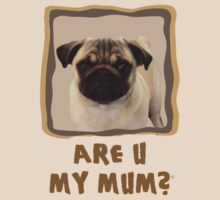 Pug doggie - Are U my mum? by glik