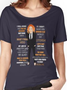 Tim Minchin Quotes Women's Relaxed Fit T-Shirt