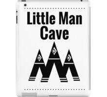Little Man Cave - White iPad Case/Skin