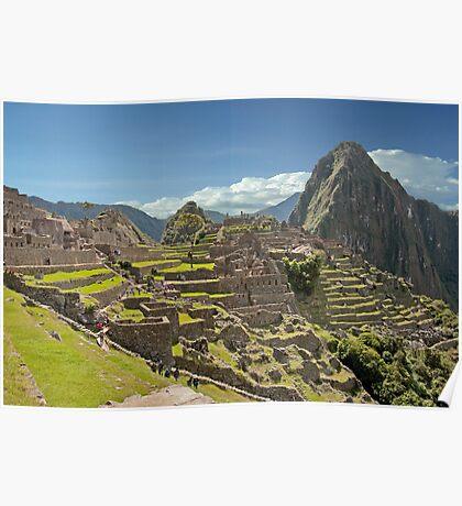 Splendor Of Machu Picchu Poster