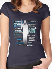 Archer Sterling Women's Fitted Scoop T-Shirt
