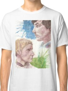The Detective and The Doctor Classic T-Shirt