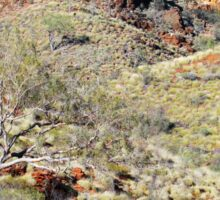 Colours of the West Macdonnell Ranges Sticker