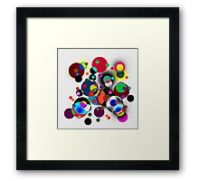 Spot the Difference 88 Framed Print