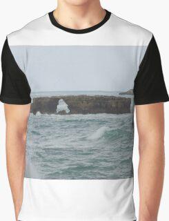 Doorway Rock, Robe South Australia Graphic T-Shirt