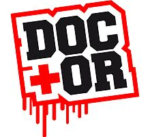 Doctor cross graffiti stamp by Style-O-Mat