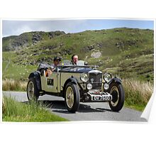 The Three Castles Welsh Trial 2014 - Riley Poster
