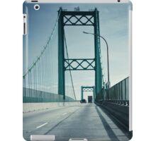San Pedro - Vincent Thomas Bridge iPad Case/Skin