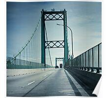San Pedro - Vincent Thomas Bridge Poster