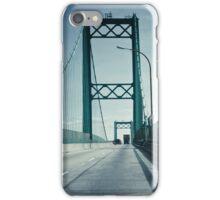 San Pedro - Vincent Thomas Bridge iPhone Case/Skin