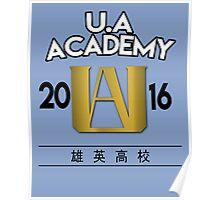 U.A University Poster