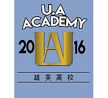 U.A University Photographic Print