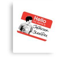 Jefferson Steelflex + Photo - Drake and Josh Inspired Canvas Print