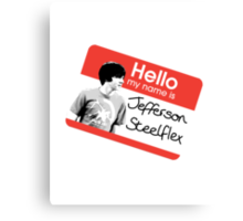 Jefferson Steelflex + Photo - Drake and Josh Inspired Canvas Print