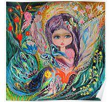 My little fairy Iris Poster