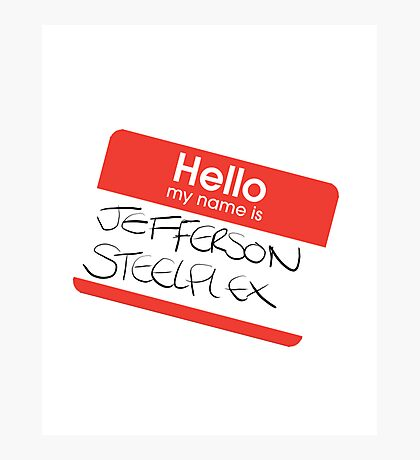 Jefferson Steelflex - Drake and Josh Inspired Photographic Print
