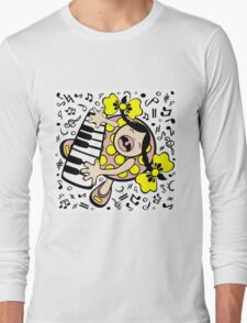 piano baby Long Sleeve T-Shirt