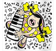 piano baby Poster