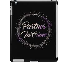 Partner In Crime - Watercolor iPad Case/Skin
