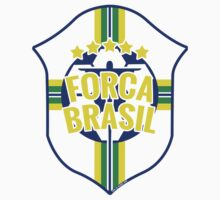 Forca Brasil World Cup 2014 by Aly Juma