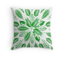 San Francisco Leaves Throw Pillow