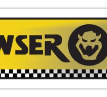 Bowser Oil Sticker