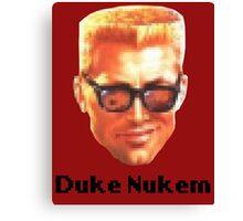 Duke Nukem PixL Canvas Print