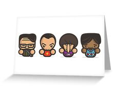 Mr Big Bang Theory Greeting Card