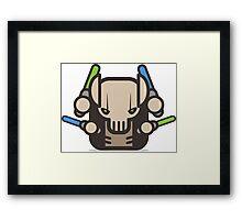 Mr Grievius Robot Framed Print