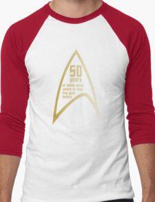Star Trek 50th Anniversary Men's Baseball ¾ T-Shirt