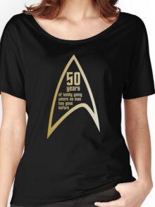 Star Trek 50th Anniversary Women's Relaxed Fit T-Shirt