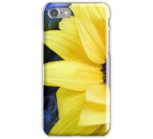 Blue Eyed Sunflower iPhone Case/Skin