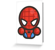 Mr Spider Hero Greeting Card