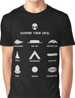 Choose Your UFO Graphic T-Shirt