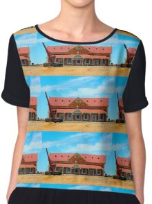 Mannahill railway station Chiffon Top