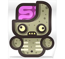 Mr Zomby walking Poster