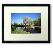 City Springtime Framed Print