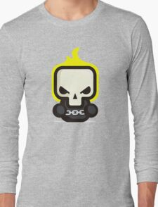 Mr Ghost skull Long Sleeve T-Shirt