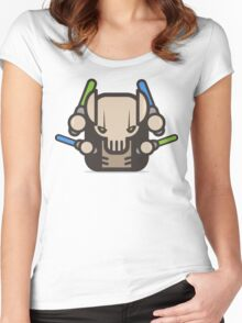 Mr Grievius Robot Women's Fitted Scoop T-Shirt
