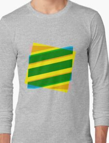 Abstract stripe Long Sleeve T-Shirt
