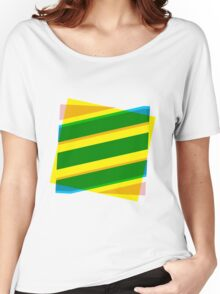 Abstract stripe Women's Relaxed Fit T-Shirt