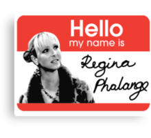 Regina Phalange - FRIENDS Inspired Canvas Print