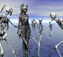 SKELETONS AT WAR by Icarusismart