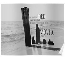 Psalm 16 Lord Before Me Poster