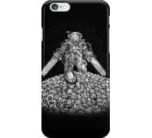Texas Chainsaw Astronaut: New Moon iPhone Case/Skin