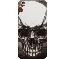 Skull n' rose iPhone Case/Skin