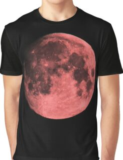 Summer solstice strawberry moon - zoom Graphic T-Shirt
