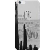 Psalm 16 Lord Before Me iPhone Case/Skin